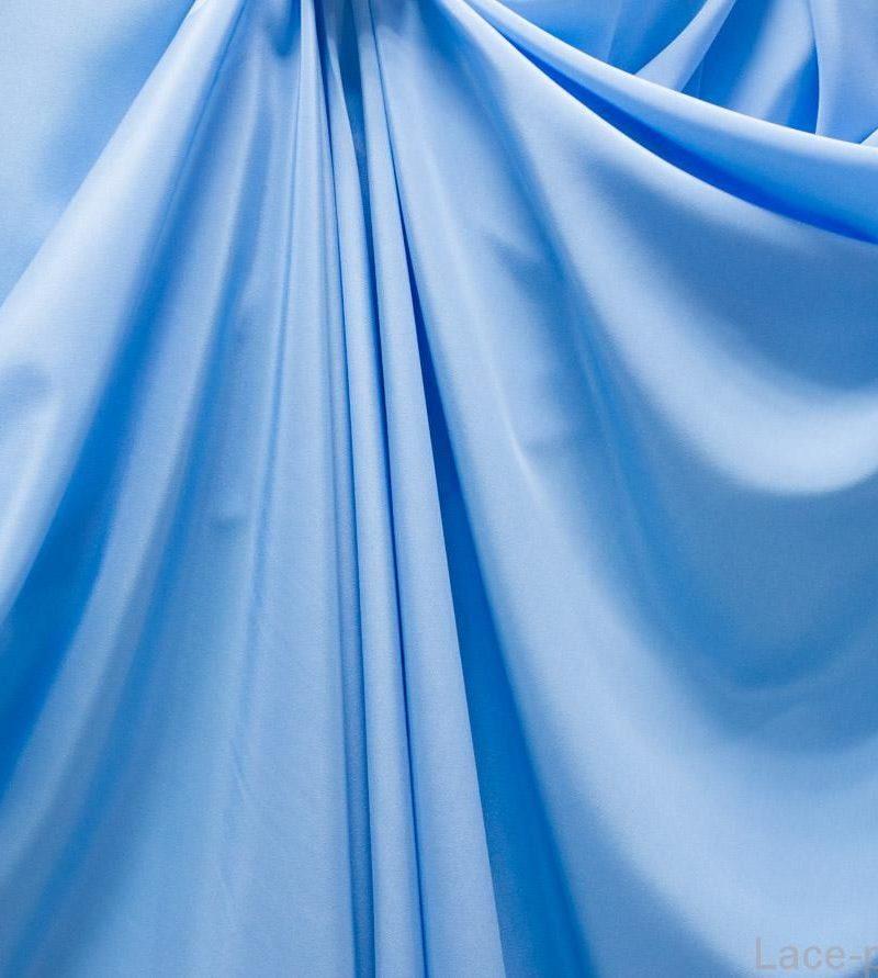 Крепдешин Голубой