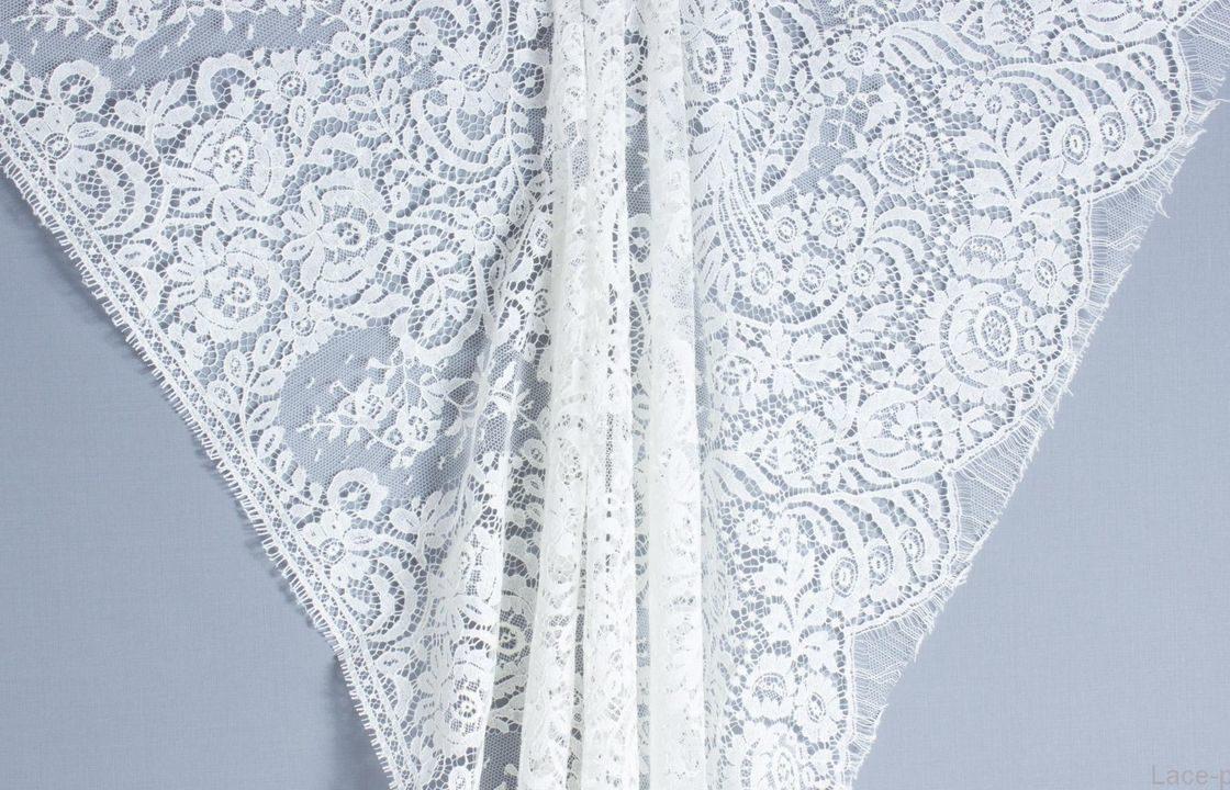 Французское кружево Dior Ecru