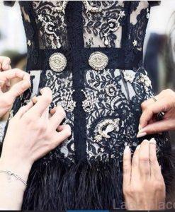 Французское кружево Dior Noir