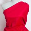 Ткань Пальтовая ягодно-красного цвета