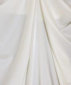 Креп-сатин лотос молочный