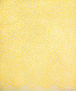 желтое хлопковое кружево