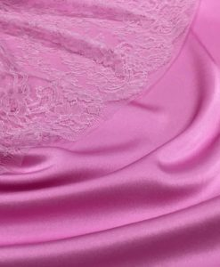 Креп-сатин персидский розовый