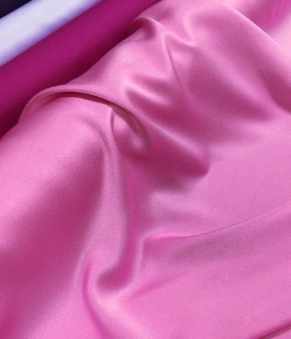 """Креп-сатин """"Лотос"""" персидский розовый"""