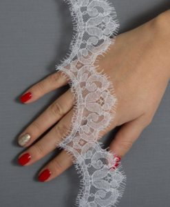 Кружево свадебное  Французское свадебное кружево  Ninel Blanc Франция