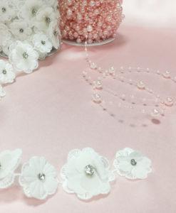 Шелк розовый