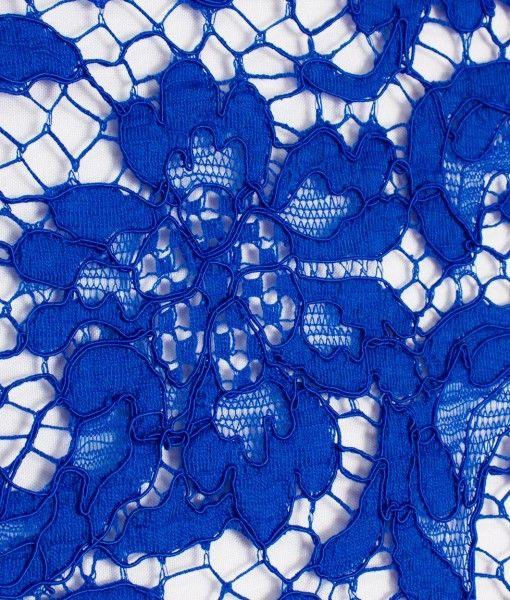 Французское кружево Prada Royal Королевский синий