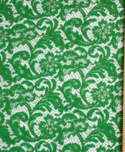 Хлопковое кружево Франция Prada Green