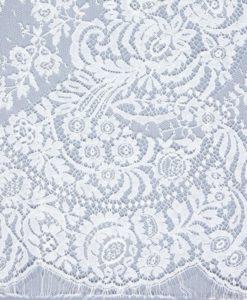 Французское свадебное кружево  Dior Ecru