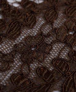 "Morroco Chocolate - кружево ""Огурцы"""