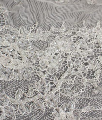 Azalea Latte узкое кружево свадебное