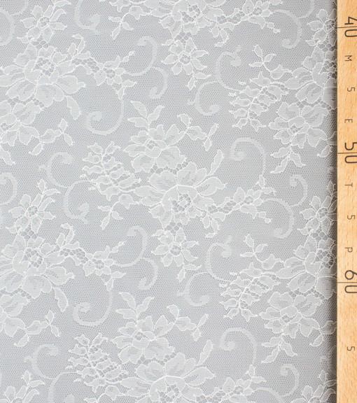 Кружево Франция Serena Blanc белый