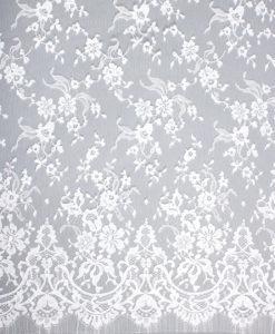 Кружево шантильи Classic2 Blanc