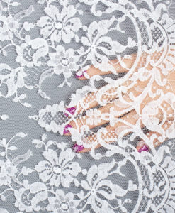Кружево Франция Свадебное кружево  Classic2 Blanc Франция