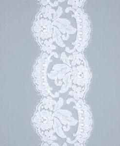 Кружево белого цвета Vera Blanc