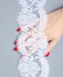 Свадебное кружево  Vera Blanc Франция белый