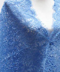 Шерстяное кружево Indira Sky Blue