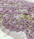 Serena Aube/Lil - узкое кордовое кружево лиловый
