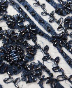 Вышивка на сетке - Стеклярус