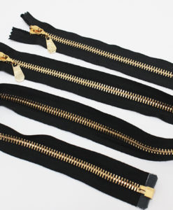 Молнии металлические Т8 Versace 20-80 см 1 замок