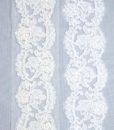 Французское кружево Vera Blanc; Ecru - белый, молочный