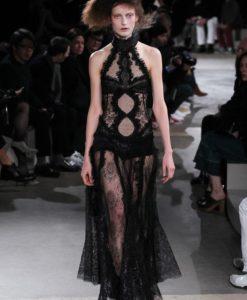 Французское кружево Milan Noir черный