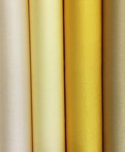 """Креп-сатин """"Лотос"""" мягкий желтый"""