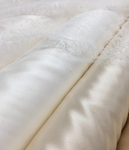 Шёлк натуральный свадебный