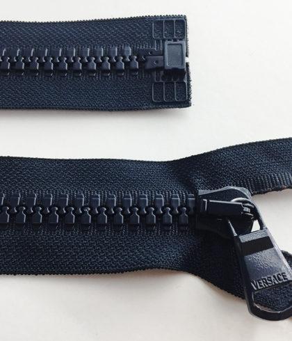 Молнии Versace пластик 1 замок разъемные 70 см
