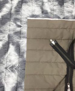 Курточная стёганая ткань