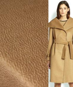 Ткань пальтовая шерсть песочного цвета