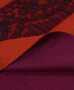 Кашемир трикотаж фиолетовый