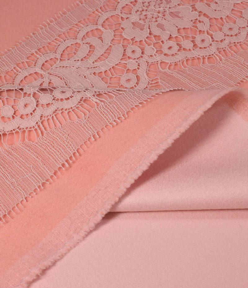 Двусторонний кашемир от Loro Piana пастельный розовый