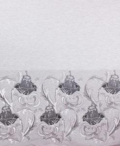 Жаккард-купон от Dolce Gabbana цвет серый