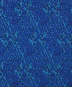Жаккард двухсторонний с дизайном рептилия цвет синий