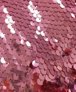 Пайетки розовый