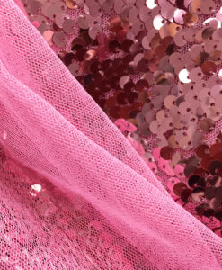 Пайетки классические цвет розовый