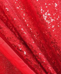 Пайетки мелкие цвет красный