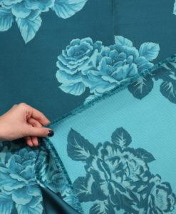 Тафта цвет бирюза от Luisa Spagnoli (Луиза Спаньоли)