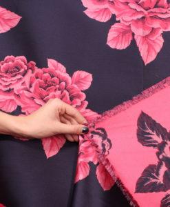 Тафта цвет малиновые розы - от Luisa Spagnoli (Луиза Спаньоли)