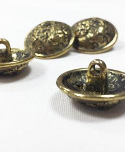 Пуговицы металлические под бронзу
