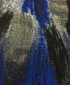 Жаккард Армани в сине-черной гамме