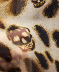 Шифон от Philipp Plein леопард череп