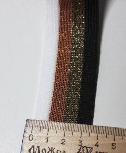 Тесьма-Лампас трикотажная цветная