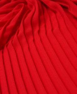 Плиссе красный