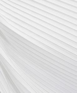 Плиссе белый