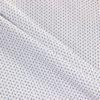 Поплин рубашечный белый с мелким рисунком