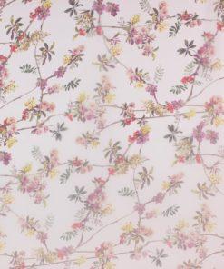 Шифон мелкий цветок