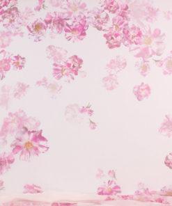 Шифон цветы