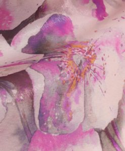 Шифон Розовые лилии